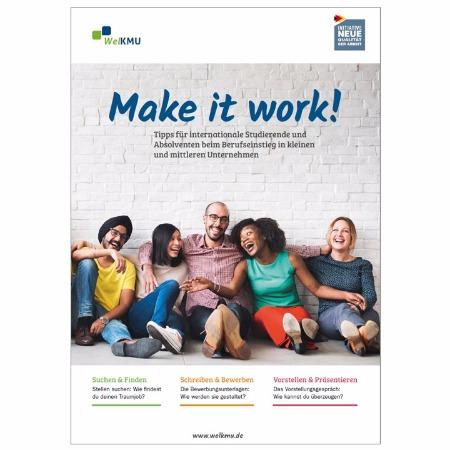 Broschüre für internationale Studierende